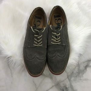 22c24516b61 1901 Nordstrom Nubuck Lace Up Derby Oxford 11.5